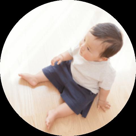 柔軟性があり生活に優しい床