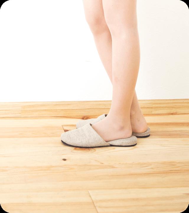 滑りすぎず、滑らなすぎない最も快適で安全な床